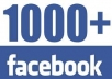 add 1000 Facebook Likes for your fanpage