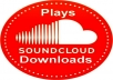 add 3000 High Quality SoundCloud Plays or Downloads