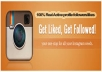 Get 5000 High Quality Instagram Followers/Likes within 24 Hours