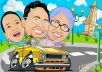 make awesome digital caricature of your photo