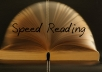 send you Genius Speed reading mp3 audio