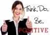 give you Be Positive Naturally audio training