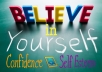 create an audio mp3 for Total Confidence and Self Esteem