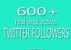 REAL Usa  twitter followers 600