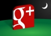 High Quality Google Plus Circles OR Post Likes