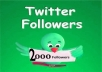 REAL Usa twitter followers 1500