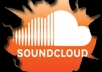 Give 8000 SOUNDCLOUD Play Less Than 10h