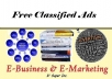 show you 250 classified websites to post free Ads