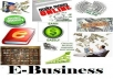 give you unique E book on any money making online business