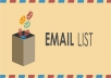 deliver a 10K opt-in mailing list of your choice