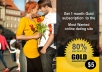 give you 1 month gold subscription to the worlds best online dating site