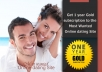 give you 1 year gold subscription for 25 users to the best online dating site