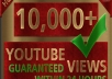 add 10,000 high retention  youtube views