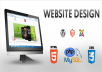 develop a company website for