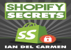 "give you ""Shopify Secrets"" ebook."
