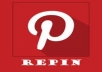 add 300 Pinterest Repin