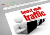 drive 50,000 twitter visitors to your sites or affiliate links