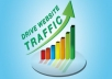 drive 1,000,000 twitter visitors to your sites or affiliate links