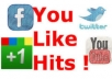 give you a new Youlikehits account with 10.000 Points