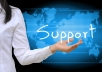 Provide Professional Administrative Support services For any Freelance Site for 30 days