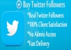 give u 7000  twitter real followers
