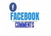 deliver 100 Facebook Custom comments