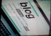Give you to create a new blogger website by your own information.