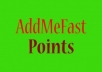 Give Addmefast 45000 points fast delivery