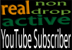 deliver 100++ REAL, NON DROP YouTube SUBSCRIBERS