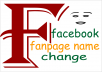 change Facebook FANPGE name