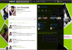 create custom twitter background for you